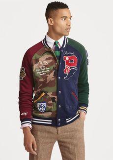 Ralph Lauren Patchwork Baseball Jacket
