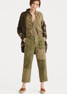 Ralph Lauren Patchwork Cotton Chino Pant