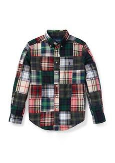 Ralph Lauren Patchwork Cotton Madras Shirt