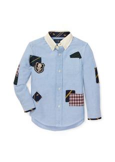 Ralph Lauren Patchwork Cotton Oxford Shirt