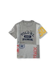 Ralph Lauren Patchwork Cotton T-Shirt