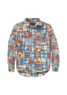 Ralph Lauren Patchwork Cotton Workshirt