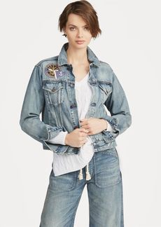 Ralph Lauren Patchwork Denim Trucker Jacket
