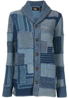 Ralph Lauren patchwork knit cardigan