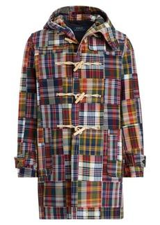 Ralph Lauren Patchwork Madras Duffel Coat