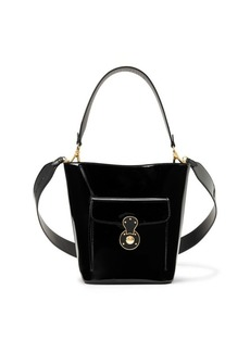 Ralph Lauren Patent Mini Bucket Bag