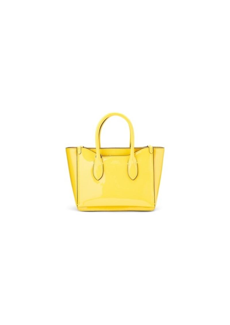 Ralph Lauren Patent Mini Sloane Satchel