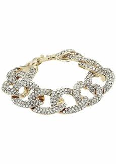 Ralph Lauren Pave Link Bracelet