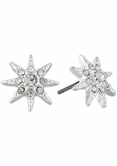Ralph Lauren Pave Star Stud Earrings