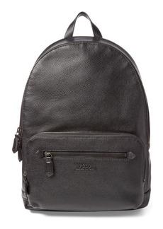 Ralph Lauren Pebbled Leather Backpack