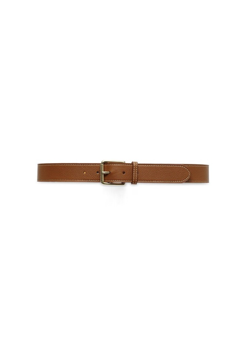 Ralph Lauren Pebbled Leather Belt