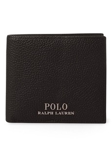 Ralph Lauren Pebbled Leather Billfold