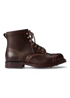 Ralph Lauren Pebbled Leather Boot