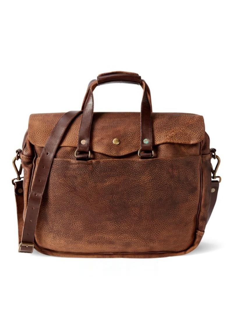c315431b92ac Ralph Lauren Pebbled Leather Briefcase