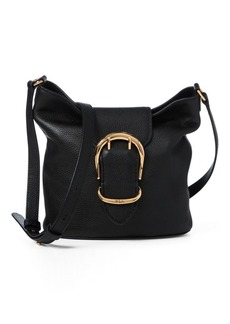 Ralph Lauren Pebbled Leather Bucket Bag