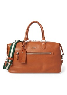 Ralph Lauren Pebbled Leather Duffel