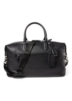 Ralph Lauren Pebbled Leather Duffel Bag