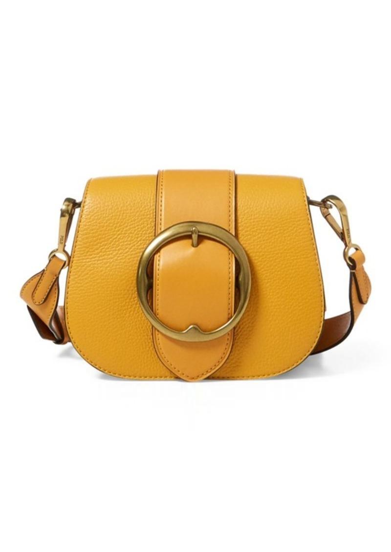 dbec1d29bff0 Ralph Lauren Pebbled Leather Lennox Bag Now  279.99