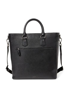 Ralph Lauren Pebbled Leather Tote