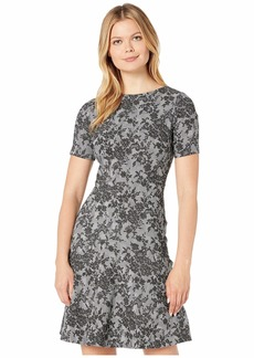 Ralph Lauren Pembrook Floral Knit Baba Short Sleeve Day Dress