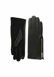 Ralph Lauren Perforated Gusset Touch Gloves