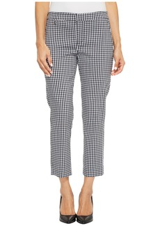 Ralph Lauren Petite Gingham Skinny Stretch Pants