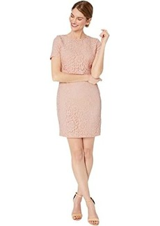 Ralph Lauren Petite Lace Popover Dress