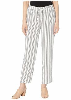 Ralph Lauren Petite Lightweight Striped Straight Pants