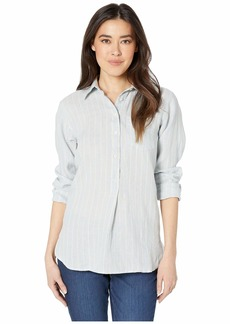 Ralph Lauren Petite Linen Long Sleeve Shirt