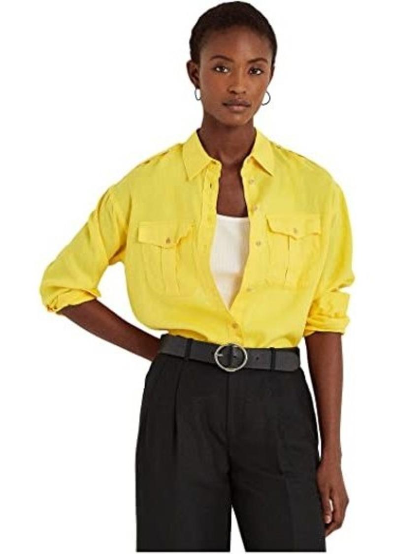 Ralph Lauren Petite Linen Shirt
