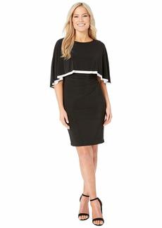Ralph Lauren Petite Matte Jersey Abriel Dress