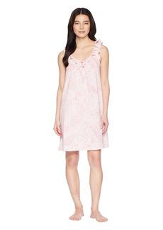 Ralph Lauren Petite Sleeveless Ruffle Gown