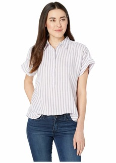 Ralph Lauren Petite Striped Linen Shirt