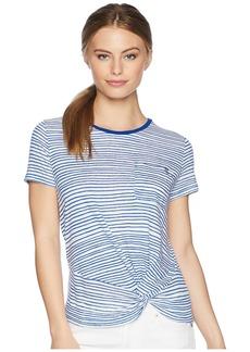 Ralph Lauren Petite Twist-Front T-Shirt