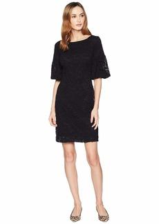 Ralph Lauren Piazza Floral Jenessa Short Sleeve Day Dress