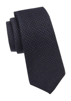 Ralph Lauren Pin Dot Silk Tie