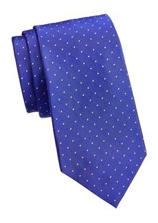 Ralph Lauren Pin Dot Silk Tie