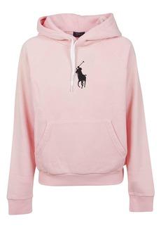 Ralph Lauren Pink Cotton Sweatshirt
