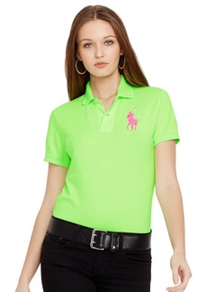 Ralph Lauren Pink Pony Classic Fit Polo