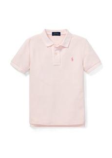 Ralph Lauren Pink Pony Cotton Mesh Polo