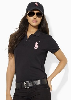 Ralph Lauren Pink Pony Cotton Polo Shirt