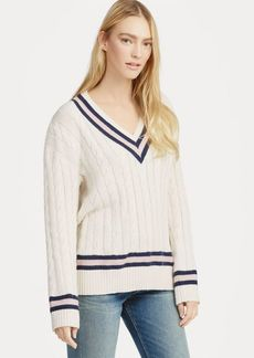 Ralph Lauren Pink Pony Cricket Sweater
