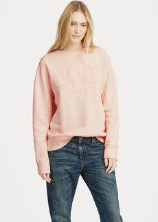 Ralph Lauren Pink Pony Fleece Pullover