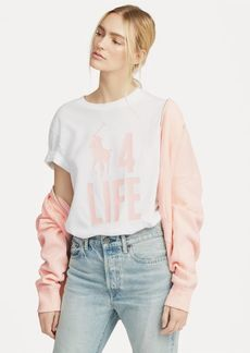 Ralph Lauren Pink Pony Graphic T-Shirt
