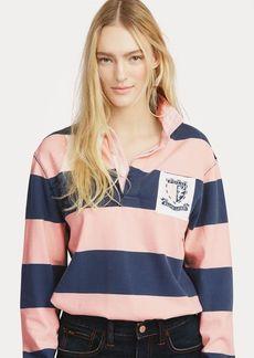 Ralph Lauren Pink Pony Jersey Rugby Shirt