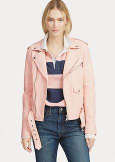 Ralph Lauren Pink Pony Moto Jacket