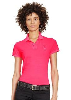 Ralph Lauren Pink Pony Patch Polo Shirt