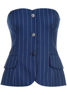 Ralph Lauren pinstripe corset top