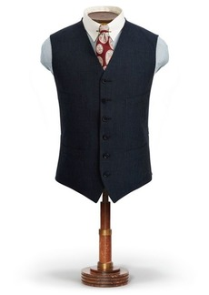 Ralph Lauren Pinstripe Cotton-Wool Vest