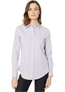 Ralph Lauren Pinstripe Easy Care Cotton Shirt